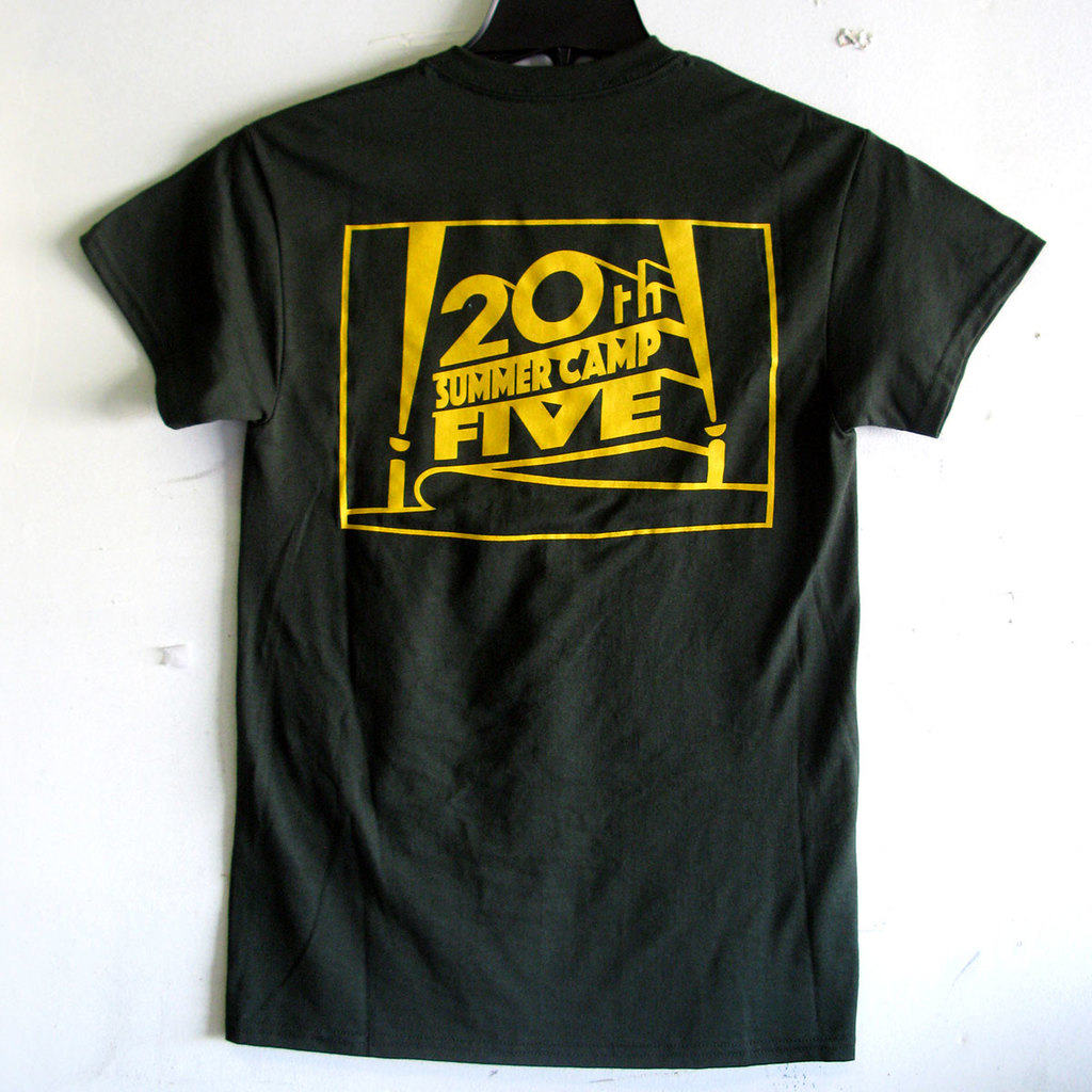 Photo of Bible Camp screen printed t-shirt