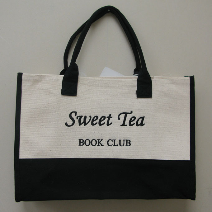 Image of a carryall bag with logo embroidered on front